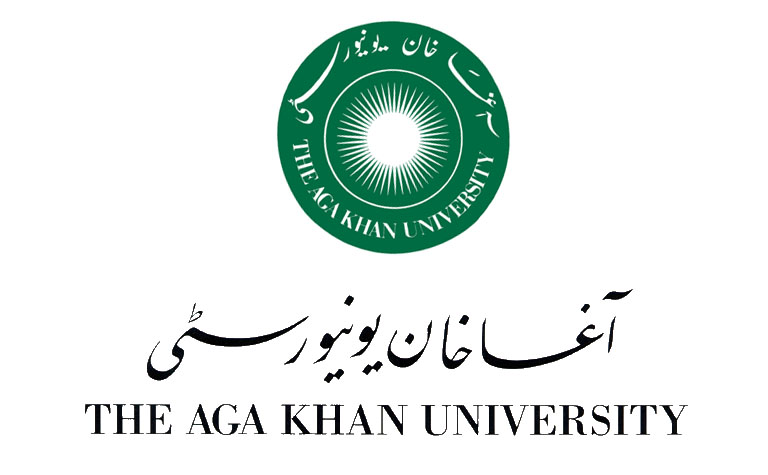 The Aga Kahn university Logo